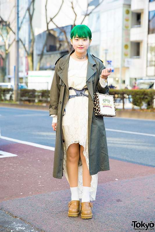 Модные персонажи на улицах Токио (03.04.18)