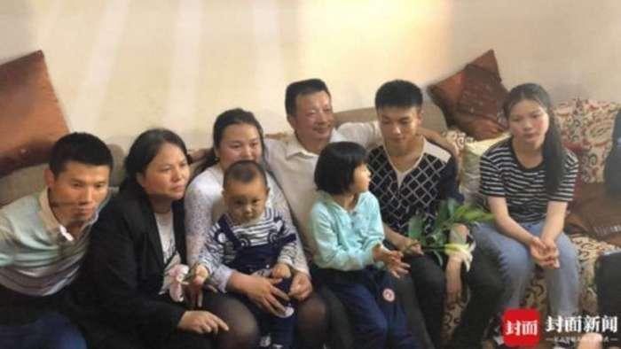 24 года китаец искал свою потерянную дочь и таки нашел