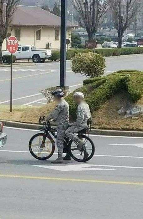 Странности из армии США