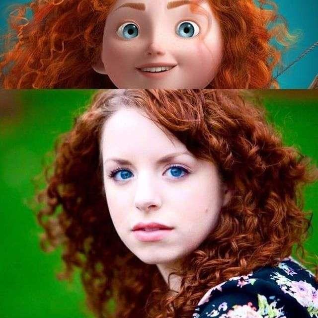 Девушки, похожие на диснеевских принцесс