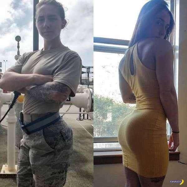 Девушки в форме и без формы! - 2