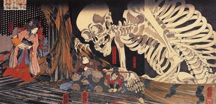 11 иллюстраций японских мифологических персонажей, которые лишат сна даже взрослых-12 фото-