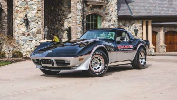Коллекцию из 16 автомобилей безопасности Chevrolet Corvette пустят с молотка-33 фото + 2 видео-