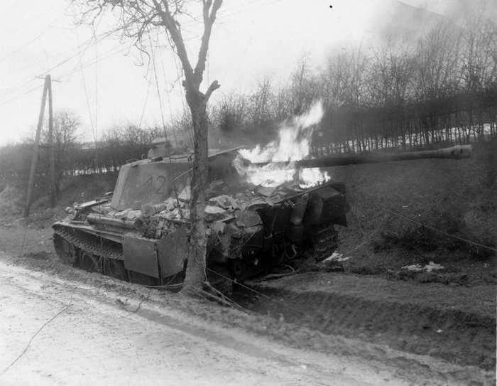 Немецкий танк -Пантера--11 фото-