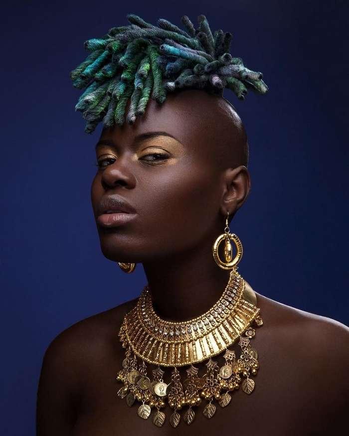 Афро-красота от фотографа Люка Ньюджента-39 фото-