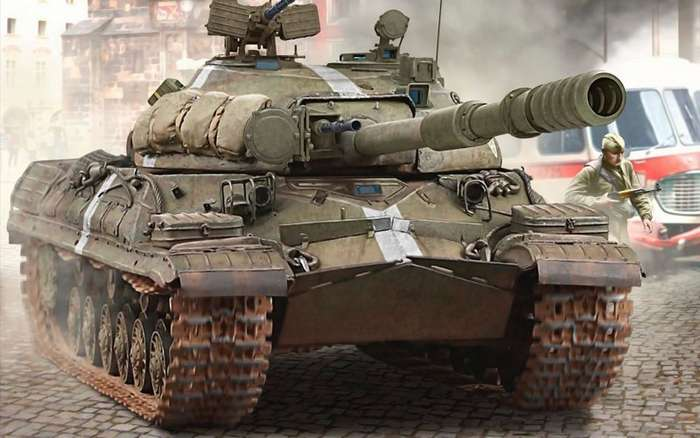 Танки серии ИС-17 фото-