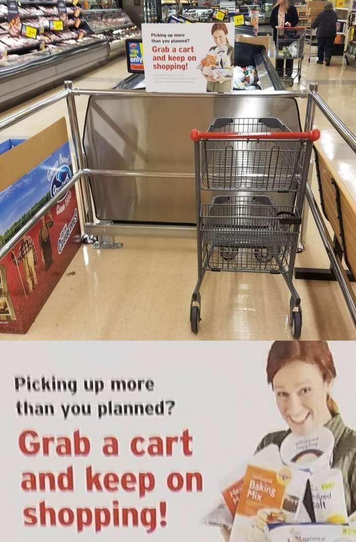 Гениальные придумки, которыми магазины привлекают покупателей-24 фото-