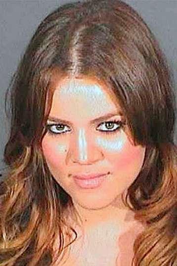 Фотографии знаменитостей после ареста
