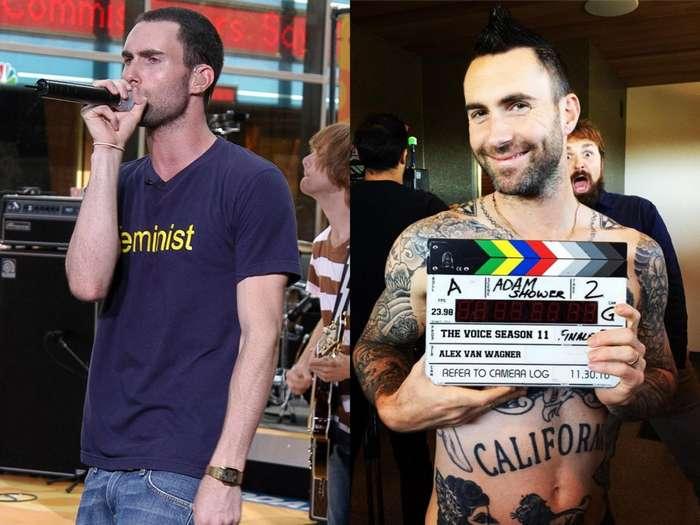 Звезды и их татуировки: до и после