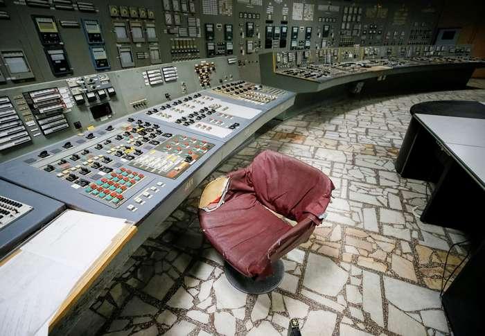 Экскурсия по чернобыльской АЭС