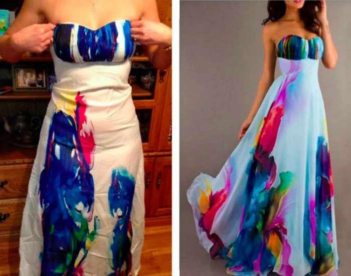 18 выпускных нарядов, которые девушки имели неосторожность заказать по интернету