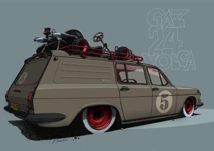 15 автомобилей, выпущенных в СССР, какими их никто не видел