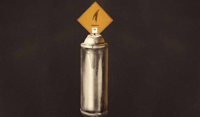 Павел Пухов: талантливый стрит-арт от P183