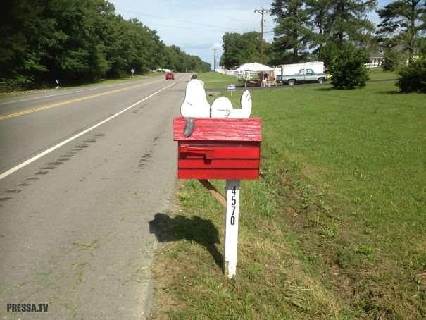 Самые необычные почтовые ящики
