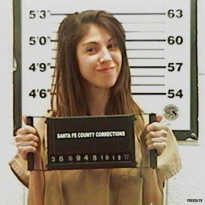 Привлекательные преступницы в США