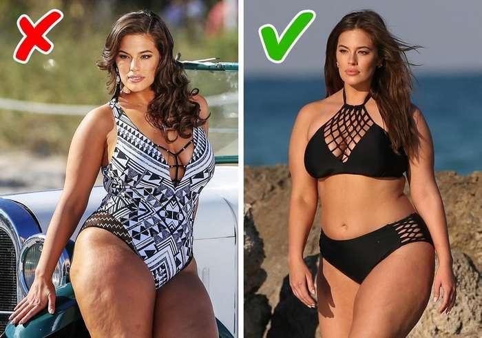 10способов скрыть недостатки фигуры напляже для тех, кто неуспел похудеть клету