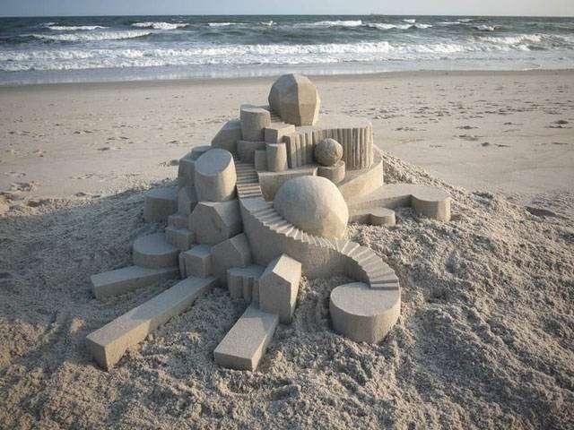 Потрясающие песочные скульптуры-23 фото-