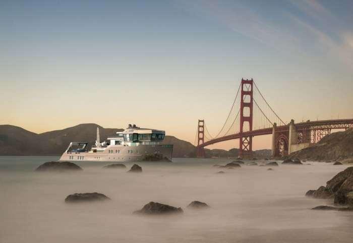 Роскошная яхта Ida Pfeiffer для самых -холодных- приключений