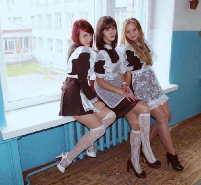 Выпускницы прошлого года (34 фото)