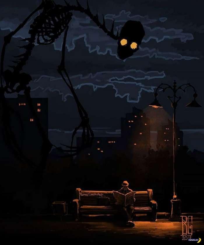 Смерть, депрессия, ночные кошмары
