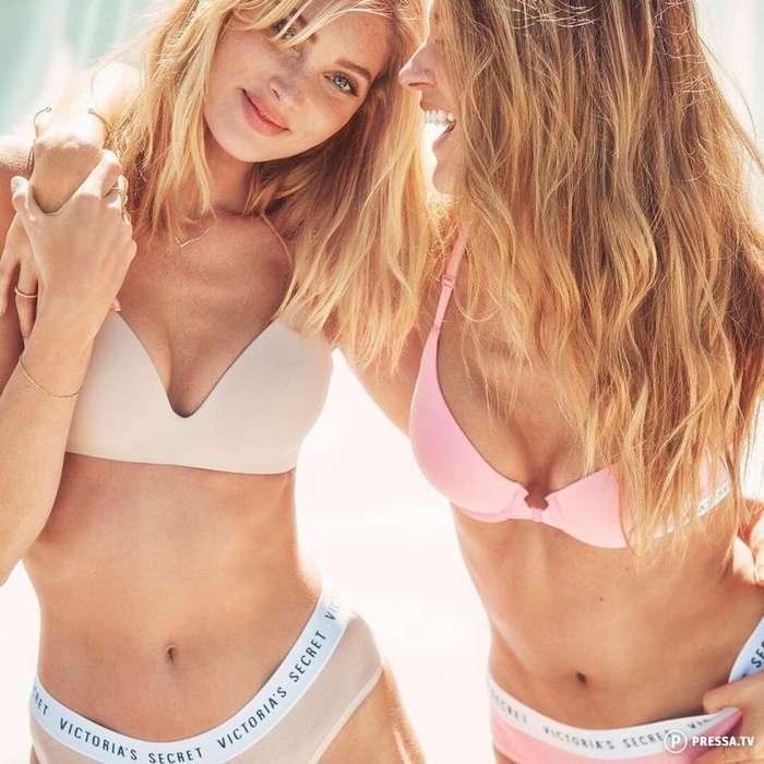 Длинноногие красотки из Victoria&039;s Secret в соблазнительном белье