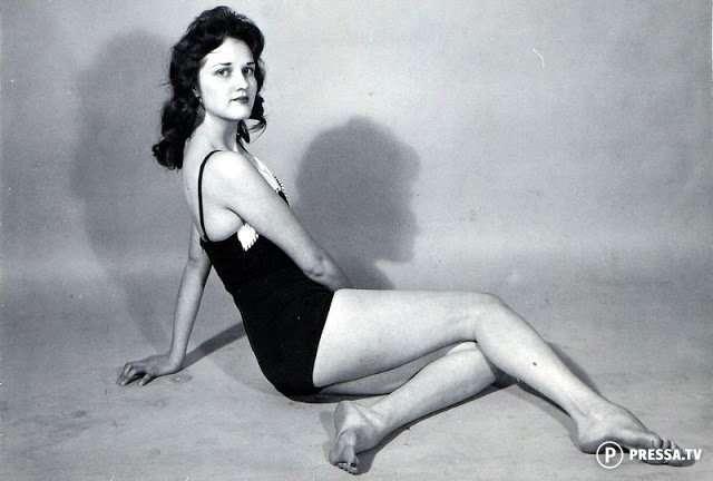 Гламурные фотографии неизвестных пин-ап девушек, которые выглядели как классические красавицы (1940 -е годы)