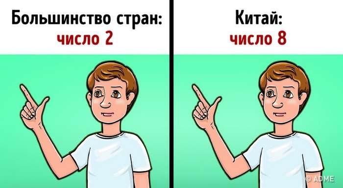 15обычных жестов, которые заграницей имеют совсем другое значение