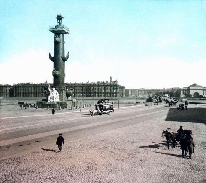 Дореволюционная Россия 1896 года на цветных фотографиях Франтишека Кратки-24 фото-