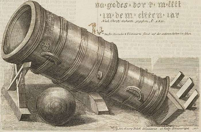 Десять самых больших и знаменитых артиллерийских орудий
