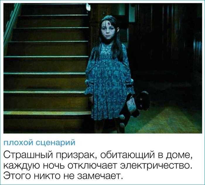 -Плохие- сценарии, прочитав которые мыпожалели отом, что поним нет фильмов