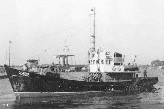 История побега из СССР: пароход -Вишера-