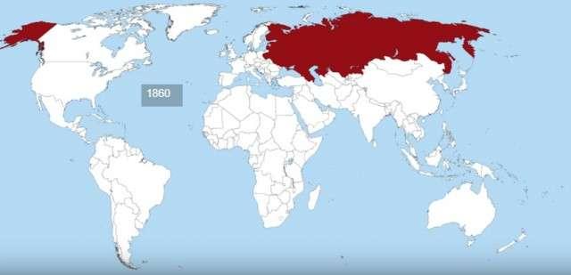 Процветание и крах империй в анимированных картах