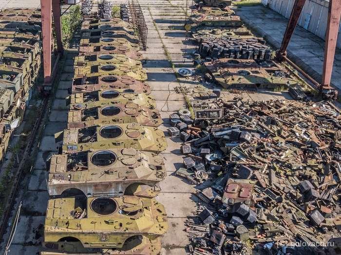 Детально о разборке бронетехники