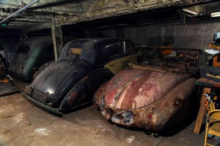 Вскрыли гараж, простоявший 40 лет под замком: Уникальные автомобили, за которые передерутся дилеры