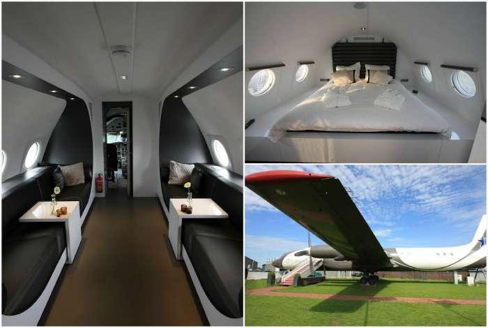 8 умопомрачительных отелей, оборудованных в настоящих самолетах и вертолетах