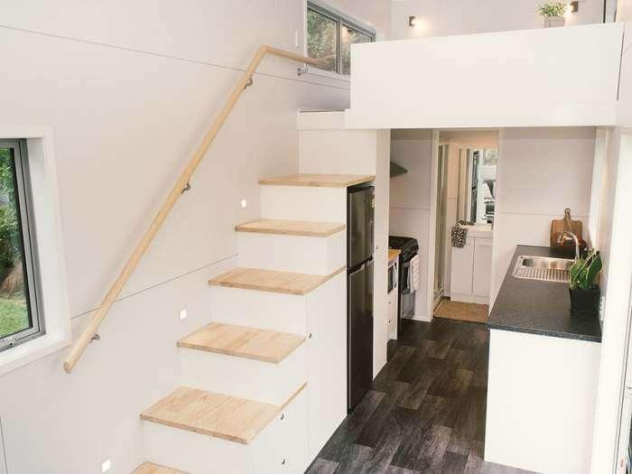 Компактный дом, с которым можно устроить переезд на новое место, когда душе будет угодно