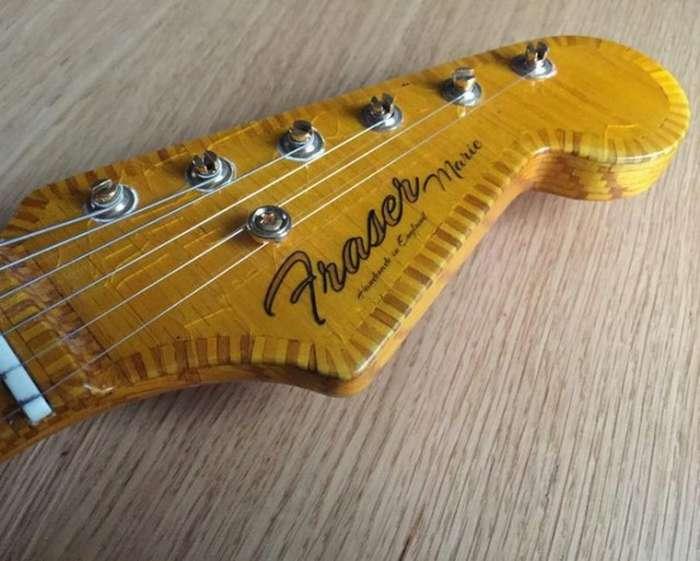 Дин Фрейзер и его гитара из спичек