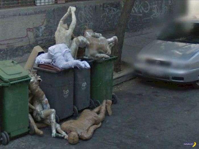 Google Street View сыплет загадками