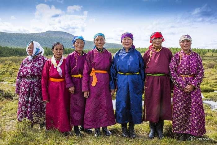 Традиционная свадьба в Северной Монголии