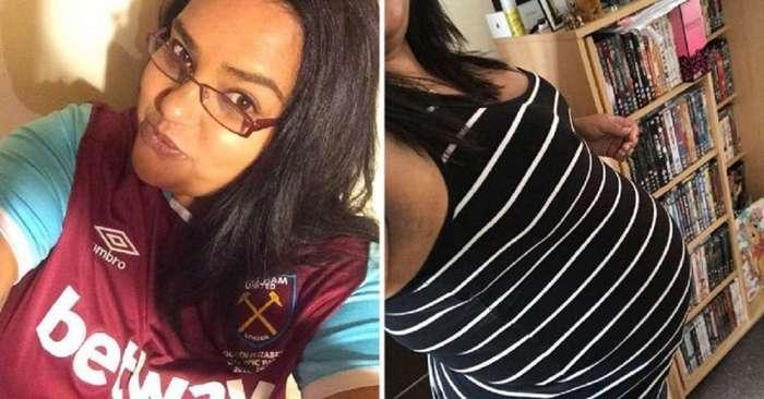 Девушка узнала о своей беременности незадолго до родов-5 фото-