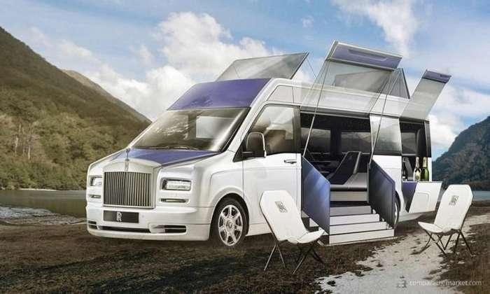 Семейные фургоны от люксовых автопроизводителей: Rolls-Royce, Ferrari и Tesla-7 фото-
