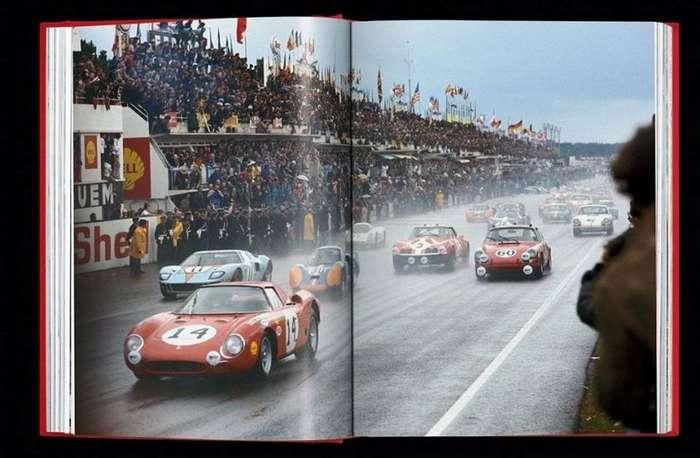 Эксклюзивная и очень дорогая книга Ferrari в чехле в виде крышки двигателя-12 фото + 1 видео-