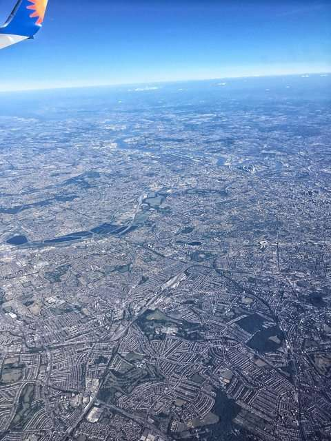Фотография Лондона с высоты превратилась в 3D-карту метрополитена