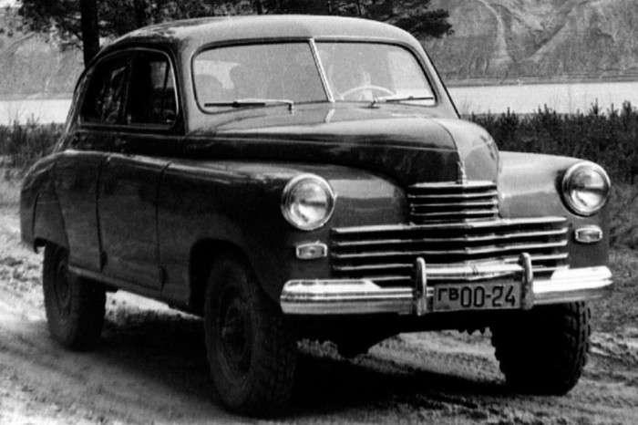 Как делали «Победу» для покорения бездорожья в СССР