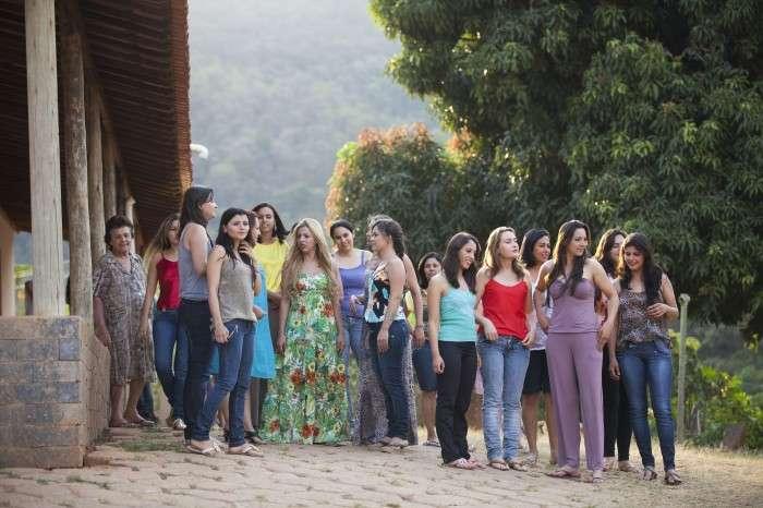 Бразильский городок, в котором живут только женщины