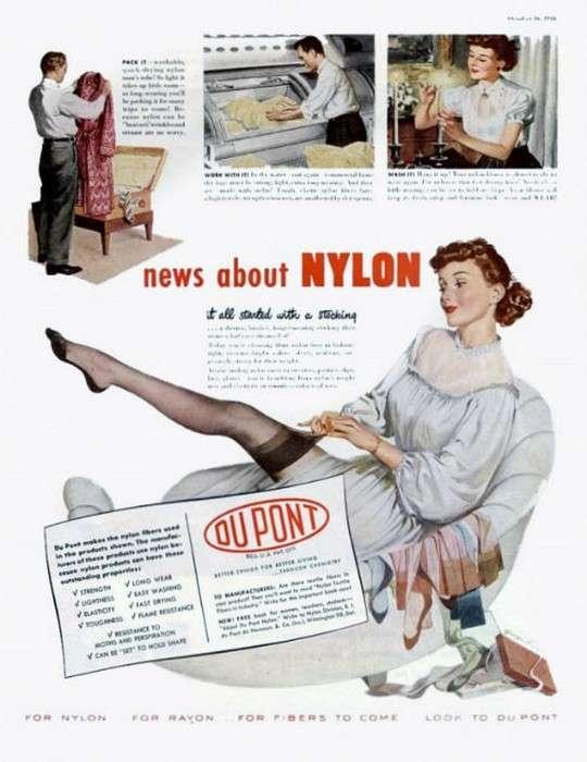 Как появились капроновые колготки, и что заставило женщин брить ножки