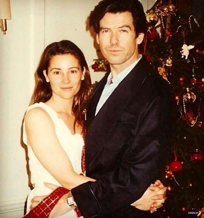 Пирс Броснан и его жена