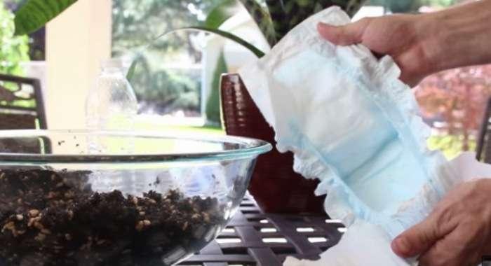 Альтернативные способы использования подгузников