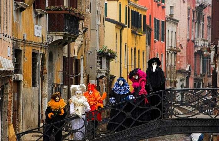 Самые яркие карнавалы из разных стран мира