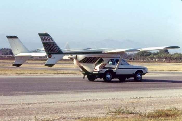Летающие автомобили, которые действительно существовали в прошлом